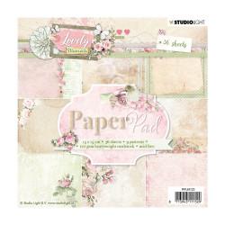 "Set Papier 15x15 ""Lovely..."