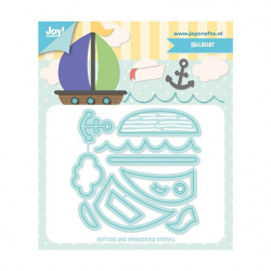 "Die ""Sailboat"" de Joy!Crafts"