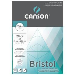 """Bloc """"Bristol"""" 20 feuilles..."""