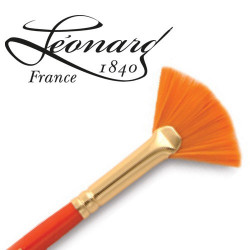 Pinceau Léonard fibre Similhair® orange Eventail