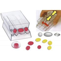 Magic roller outil pour créer des perles en pâte à modeler, ronde, ovale, toupie