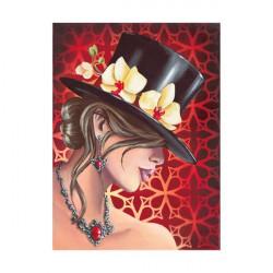 Femme cabaret 30x40