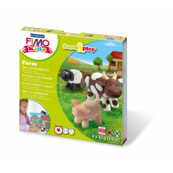 "Kit Fimo Kids Form & Play  ""Ferme"""