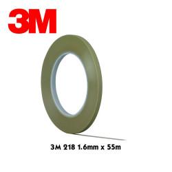 "3M Adhésif de masquage ""fine line"" 218 1.6mm"