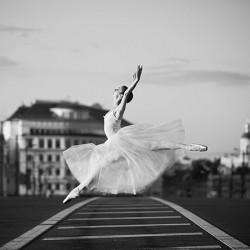 Danseuse classique 30x30