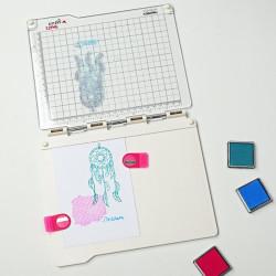 Plaque Stamp Easy de Vaessen Creative