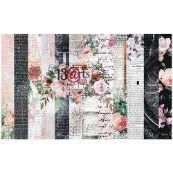 """Set Papier 30x30 """"Rose..."""