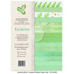 """Set Papier A4 """"Leaves 02""""de..."""
