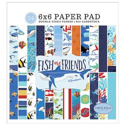 """Set Papier 15x15 """"Fish Are..."""