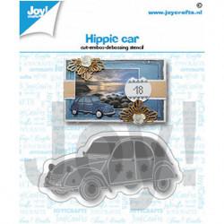 """Die """"Hippie car"""" de Joy!Crafts"""