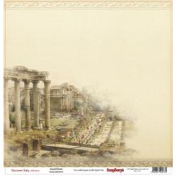 Papier scrapbooking Discovery Italy - Ancient Rome de Scrapberry's en 30.5x30.5