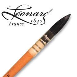 Pinceau Léonard chèvre extra-fine Rond