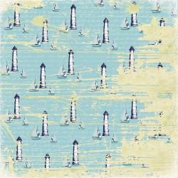 Papier scrapbooking Seaside - Back to the sea de Scrapberry's en 30.5x30.5
