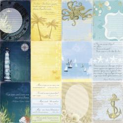 Papier scrapbooking Seaside - Sea Legends de Scrapberry's en 30.5x30.5
