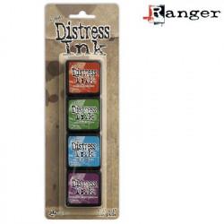 Set de 4 mini encreurs Distress Ink 'Ranger' N°2