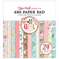 "Set Papier 15x15 ""All Girl""..."