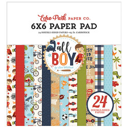 "Set Papier 15x15 ""All Boy""..."