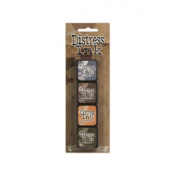 Set de 4 mini encreurs Distress Ink 'Ranger' N°9