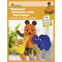 """Kit de bricolage marionnettes à doigts """"Souris"""" Heyda"""