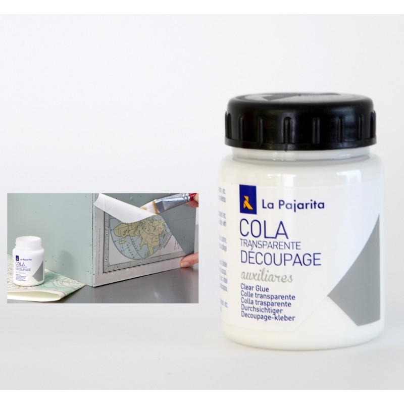 Colle blanche transparente chalk paint la pajarita 75ml