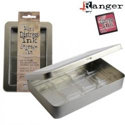Boîte de 12 rangements pour encreurs mini Distress Ink