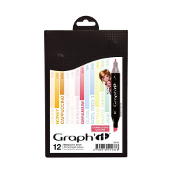 Set de 12 marqueurs Graph'It Characters colors