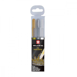 Set de 3 stylos gel Gelly...