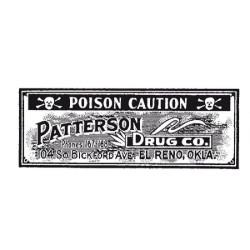 """Tampons caoutchouc """"Poison""""..."""