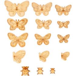 """Bois ornement """"papillons""""..."""