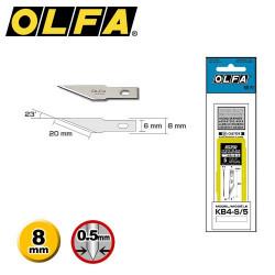 5 Lames de rechange OLFA KB4-S