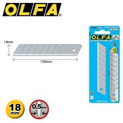 6 Lames de rechange OLFA LB-6B