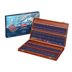 Coffret bois de 72 crayons...