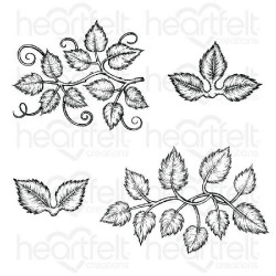 "Set de tampons Cling ""Leafy..."
