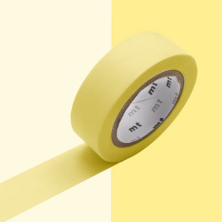 Masking Tape Pastel Uni de MT (15 mm x 10 m)