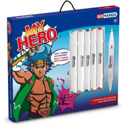 Kit dessin Manga My hero Go...