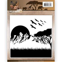 """Plaque d'embossage """"Wild..."""