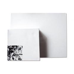 Lot de 3 Châssis carré épaisseur 3,8 cm (100% coton)