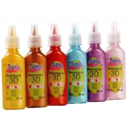 Kit peinture 3D Diam's -...