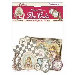 "Set de die cuts ""Alice..."