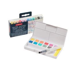Set Pastel Shades Paint Pan...