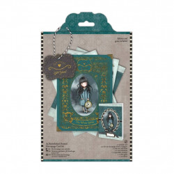 "kit carte 3D ""Santoro - Gorjuss' The white rabbit"" de Docrafts (A5)"