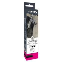 Boîte de 5 fusains Lyra...