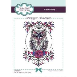 """Tampon transparent """"Owl Be..."""
