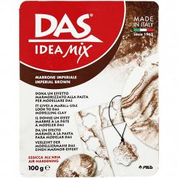 Pâte minérale à modeler séchant à l'air 'Das Idea Mix'Marron Impérial 100g
