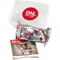 Pâte minérale à modeler séchant à l'air 'Das Idea Mix' Rouge Verone 100g