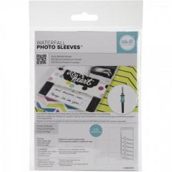 Kit de 20 Pochettes photo sleeve fuse cascade 10x10 cm de We R Memory Keepers