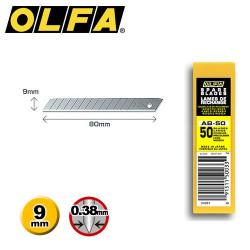 50 lames de rechange OLFA AB-50