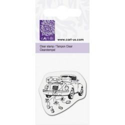 Mini tampon Limousine mariage - Planche 5 x 6 cm Cart us