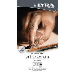Etui de 12 fusains LYRA Rembrandt Art Specials