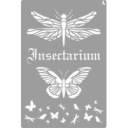 Pochoir insectarium de La Pajarita